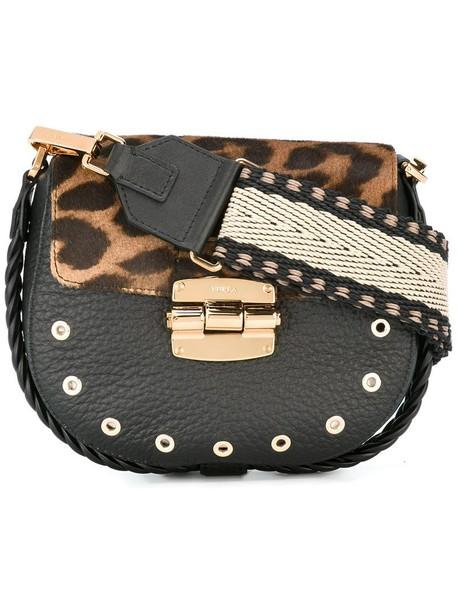Furla women bag crossbody bag black