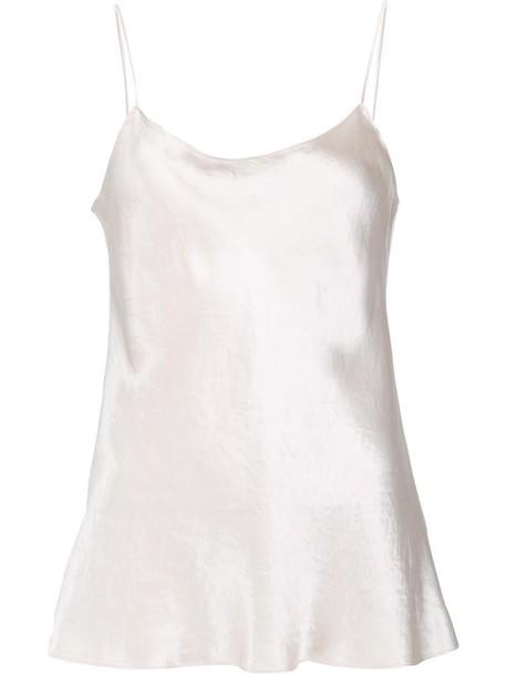 Vince blouse women classic nude top