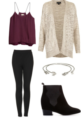 tank top cardigan blouse burgundy tanktop. shirt flowy flowy top purple tank top shoes top leggings spaghetti strap chic muse swimwear fall outfits fall sweater pants maroon/burgundy black jewelry ankle boots black boots boots booties black booties chunky chunky sole red summer outfits red tank top maoon cute sweater nude