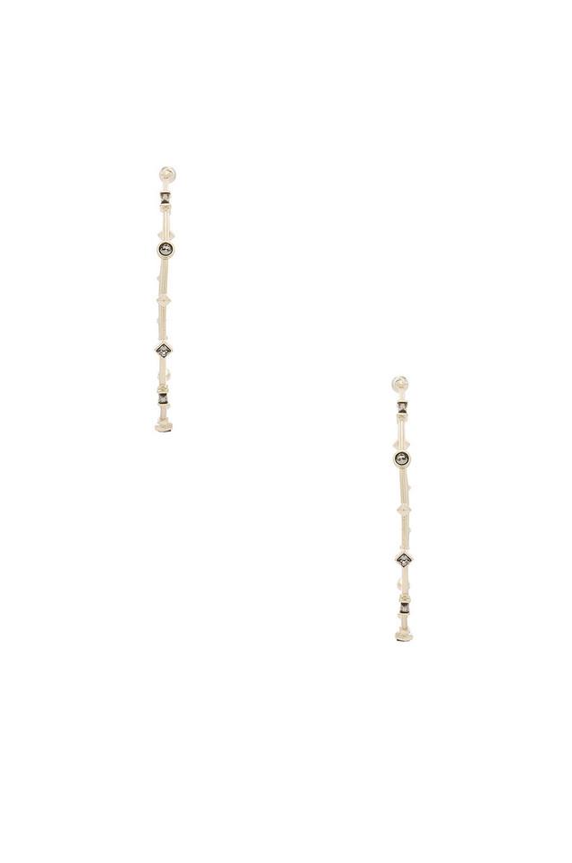 Kendra Scott Zella Earrings in gold / metallic