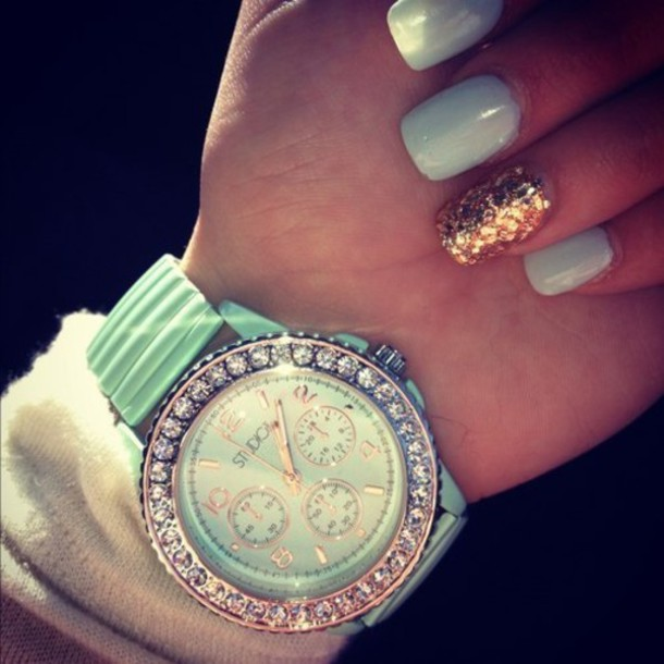 jewels mint diamonds