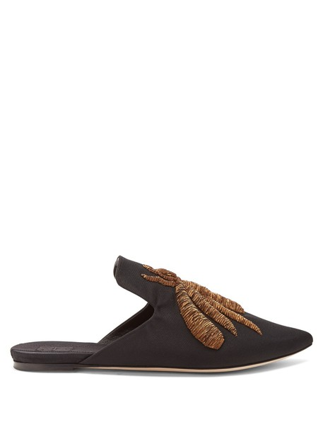 SANAYI 313 embroidered shoes gold black
