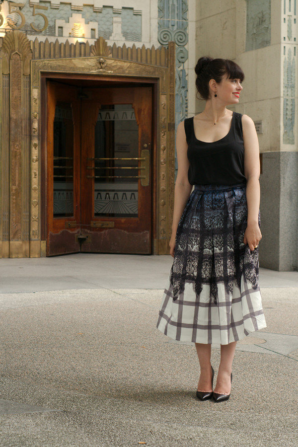 coco and vera skirt shoes jewels sézane