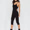 Rise to power cut-out romper black nude hgrey - gojane.com
