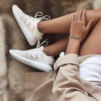 shoes chic sneakers low top sneakers nude sneakers all nude everything