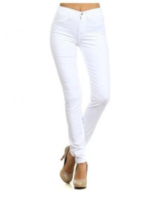 White High Waist Jeans