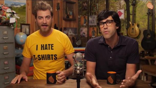 t-shirt yellow t-shirt rhett and link