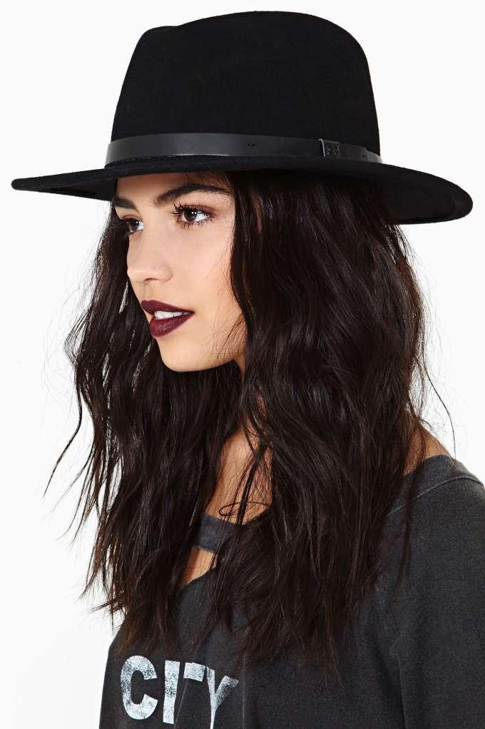 Brixton Messer Hat at Nasty Gal