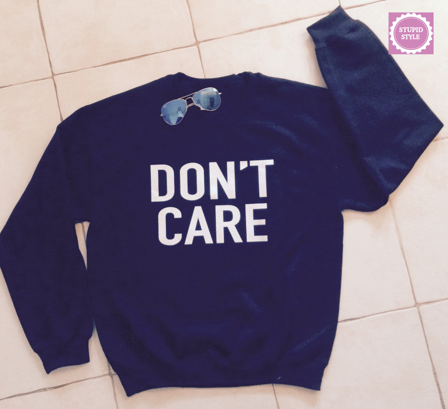 care black sweatshirt jumper cool fashion sweatshirts girls UNISEX ...