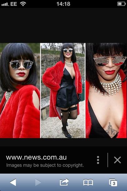 coat rihanna style