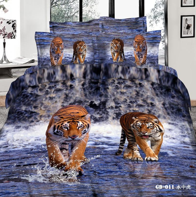 Best Tiger King Comforter Sets 3d Bedding Set Pillow