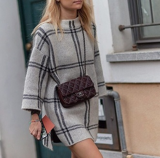 sweater knitwear dress style fashion chanel