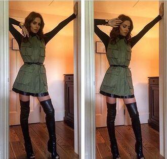 shoes boots cheryl cole instagram vest booties