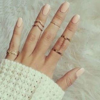 jewels leaf gorgeous ring midi knuckle ring gold rong golden chevron chevron ring chevron midi ring leaf ring chain gold chain chain ring