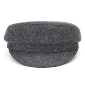 hat,wool,grey