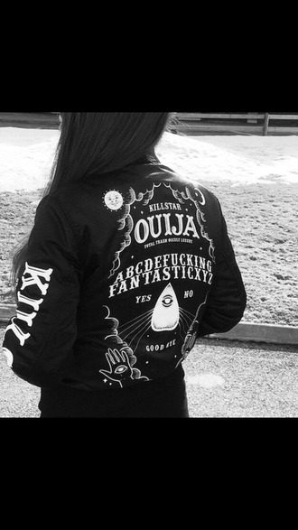 jacket black grunge