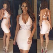 bandage dress,sexy dress,pink dress,evening dress,bodycon dress,night out outfit,party dress,clubwear,clubbing oufits,celebrity style,celebrity,celebrity style steal,herve leger,celebboutique.com,herjunction,herjunction.com
