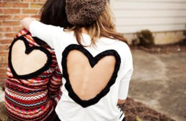 heart open back cute beanie sweater heart sweater