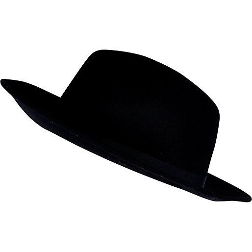 1349d42b55a Black fedora hat - hats - accessories - women