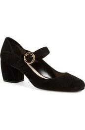 shoes,black,90s style,suede,prada