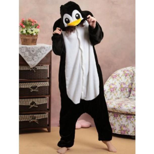 pajamas disguise animal pajamas costume black and white