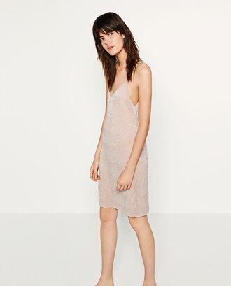 dress slip dress glitter glitter dress