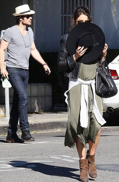 nikki reed brown leather boots