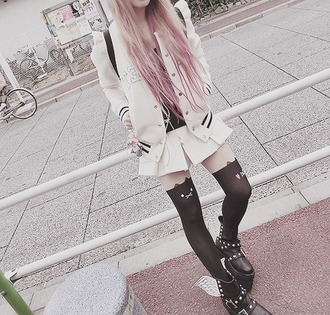 skirt pastel goth cute creepy cute pastel goth anime style