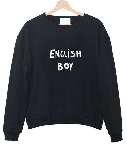 english boy sweatshirt - Tees Shop Online