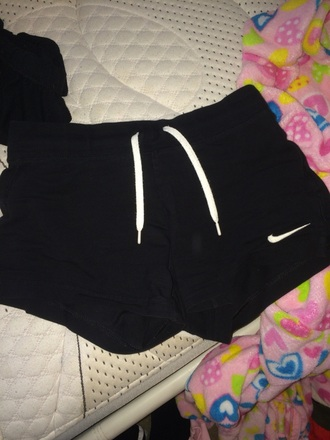 shorts nike black nike shorts cotton swoosh