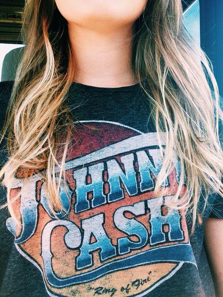 212c3e5b1 shirt, band t-shirt, vintage, johnny cash - Wheretoget