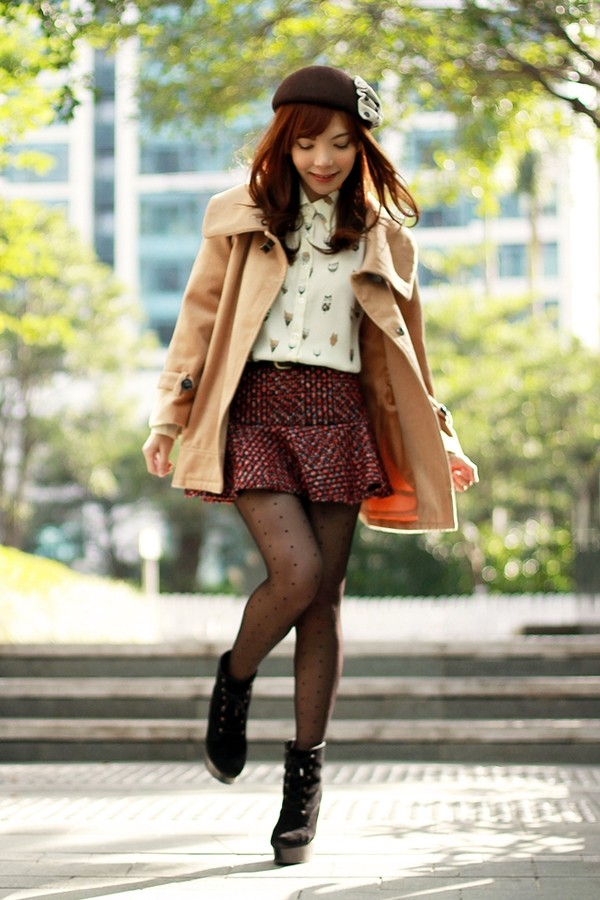 mochaccinoland coat shirt skirt
