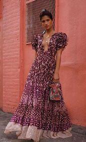 dress,rocky barnes,instagram,streetstyle,fashion week,maxi dress