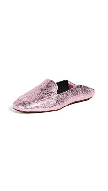 Tibi mules pink shoes