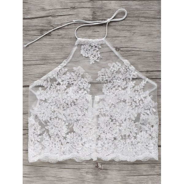 top white see through crop tops fashion summer style trendy feminine rosewholesale.com