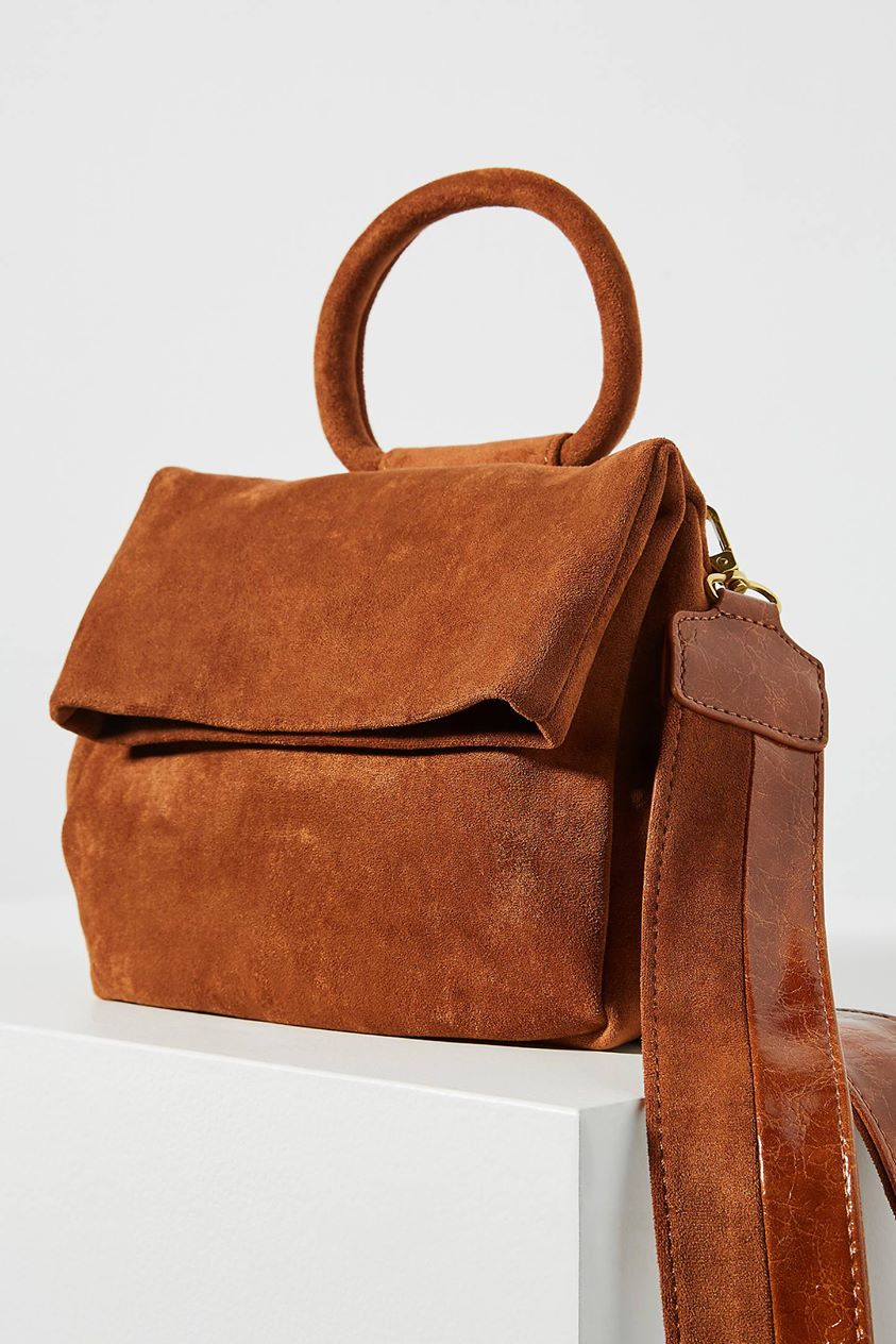 Blake Crossbody Bag by Anthropologie in Brown