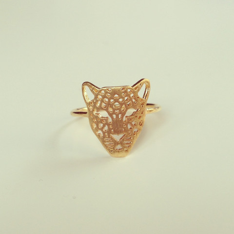 louun — Chic Tiger Gold Ring