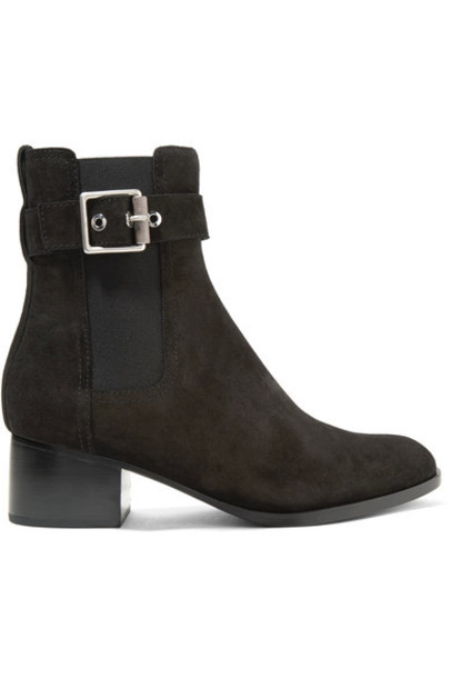 Rag & Bone suede ankle boots ankle boots suede black shoes