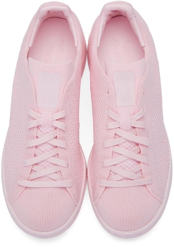 wholesale dealer 8d7e2 32cf8 adidas stan smith primeknit sneaker pink