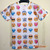 New fashion emoji t shirt hot style emoticons tshirt popular summer funny clothes unisex women/men top tees t shirt-in T-Shirts from Apparel & Accessories on Aliexpress.com