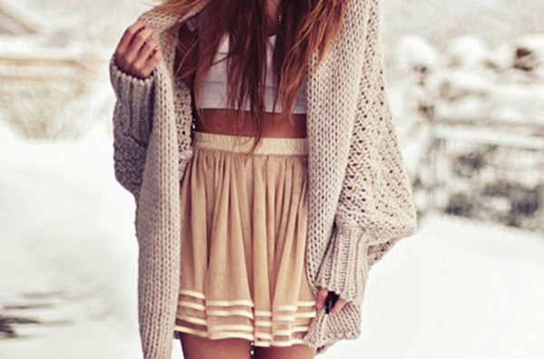 cardigan beige skirt where?