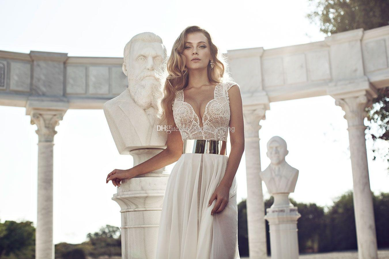 Discount vino 2014 fashion wedding dresses cap sleeve gown online with $162.81/piece
