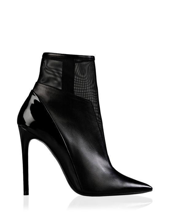 Barbara Bui Official Online Store - Nappa and mesh low-boots