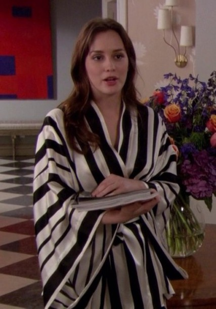 pajamas robe gossip girl blair waldorf leighton With robe gossip girl
