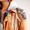 Bohemian leather jacket