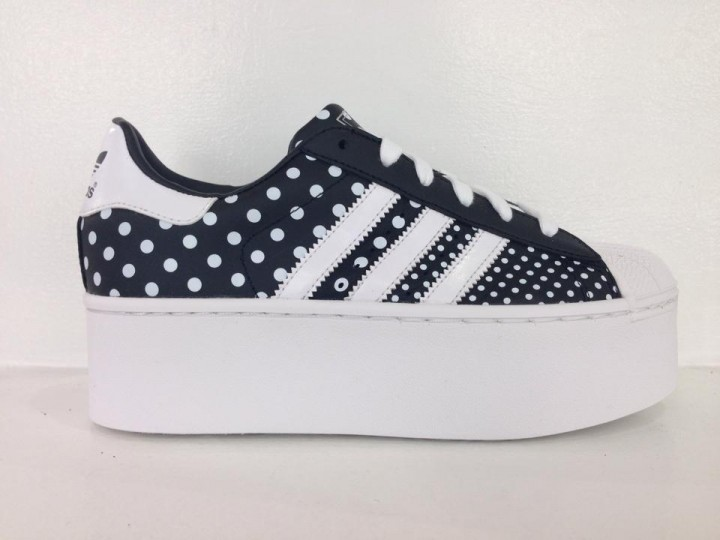separation shoes 0a155 0ff75 ADIDAS SUPERSTAR 2 PLATFORM UP EF NERO-BIANCO - Donna MadeInSneakers -  Scarpe Sneakers ai prezzi più bassi d'Italia