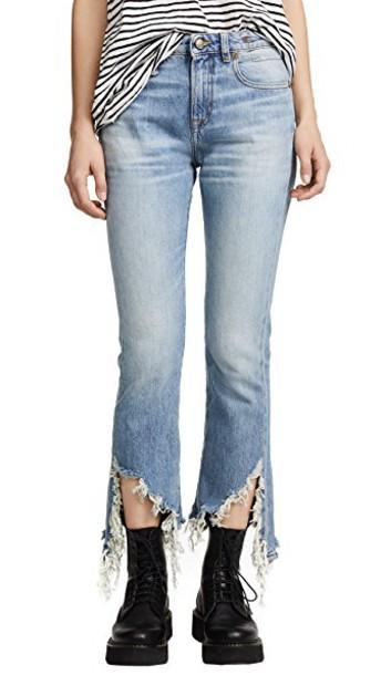R13 jeans long blue