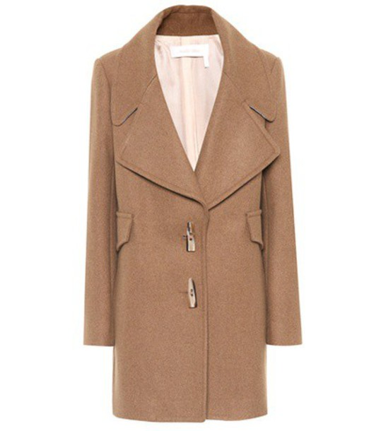See by Chloe coat wool brown