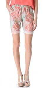 Women's Knee Length Bermuda Shorts