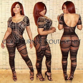 jumpsuit bodystocking catsuit